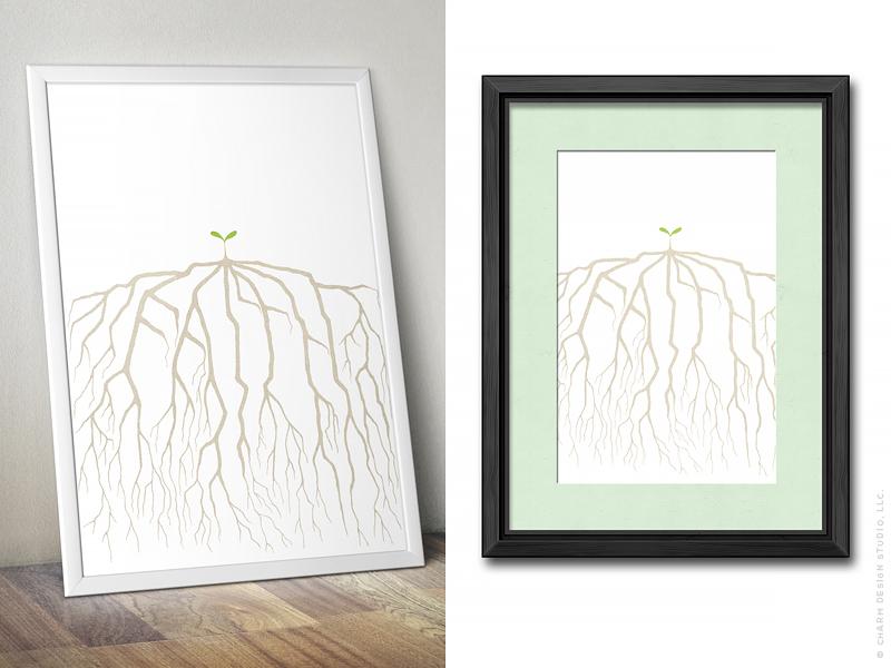 Faith Grows Things by Charm Design Studio