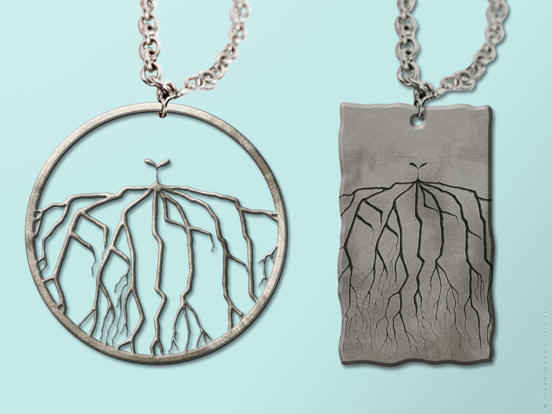 Faith Grows Things necklaces