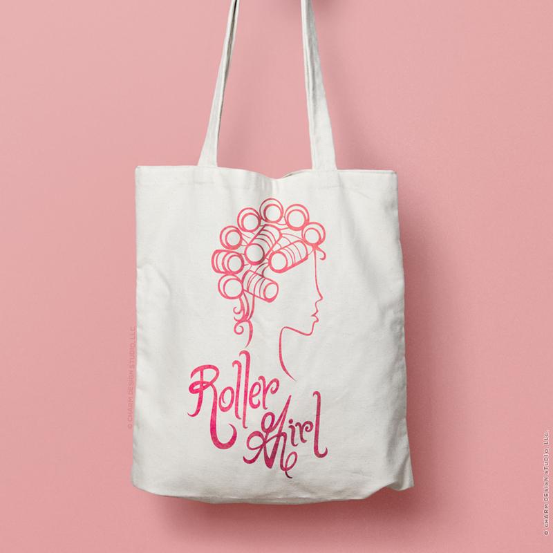 Roller Girl by Charm Design Studio, LLC.