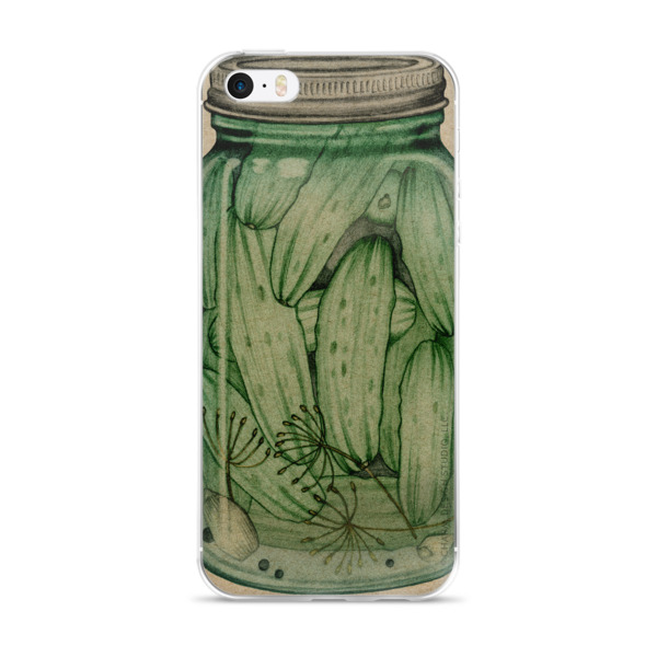 Canned Pickles – iPhone case