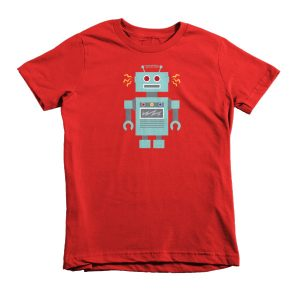 Robot – Short sleeve kids t-shirt
