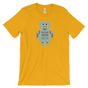 Robot – Unisex short sleeve t-shirt