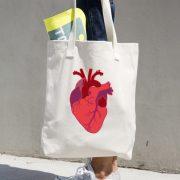 Anatomical Heart – book bag