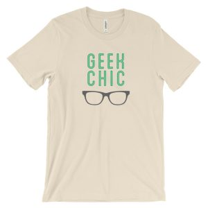 Geek Chic – Unisex short sleeve t-shirt