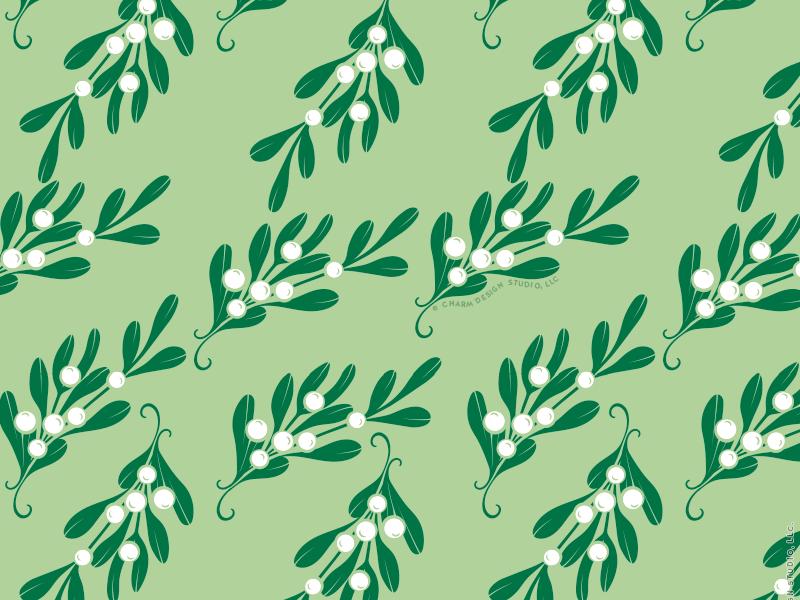 Merry Mistletoe by Charm Design Studio